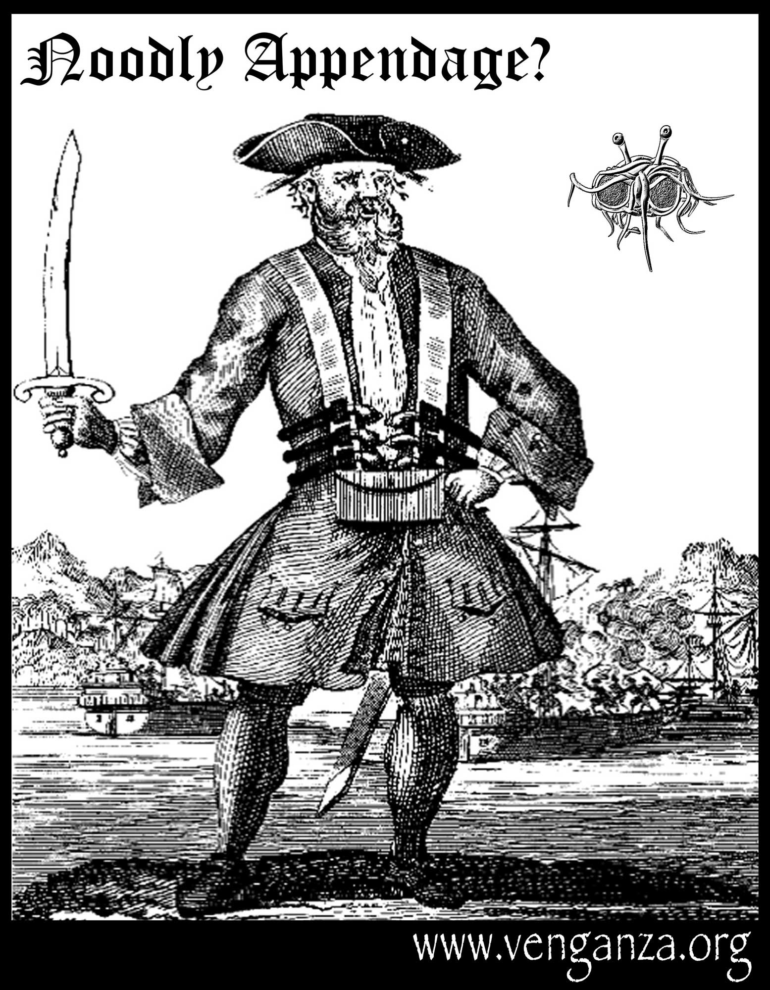 Now this is a PIRATE.  This is REALLY a pirate!