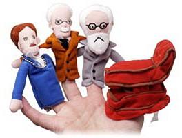 Psychologist Finger Puppets