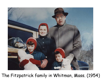 Ah - the Festive Fitzpatricks.