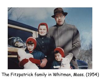 Ah - the Festive Fitzpatricks.