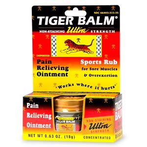 It actually says on the package 'Not made from Tigers or Tiger parts.'