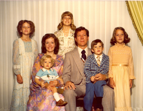 My Family: Kate, Karen, David, Shirleen, Calvin, Charles & Janet