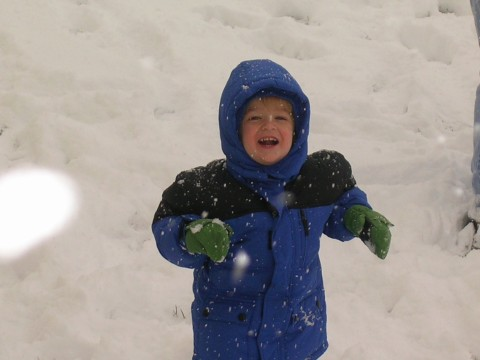 Anders in the First Snow 2007