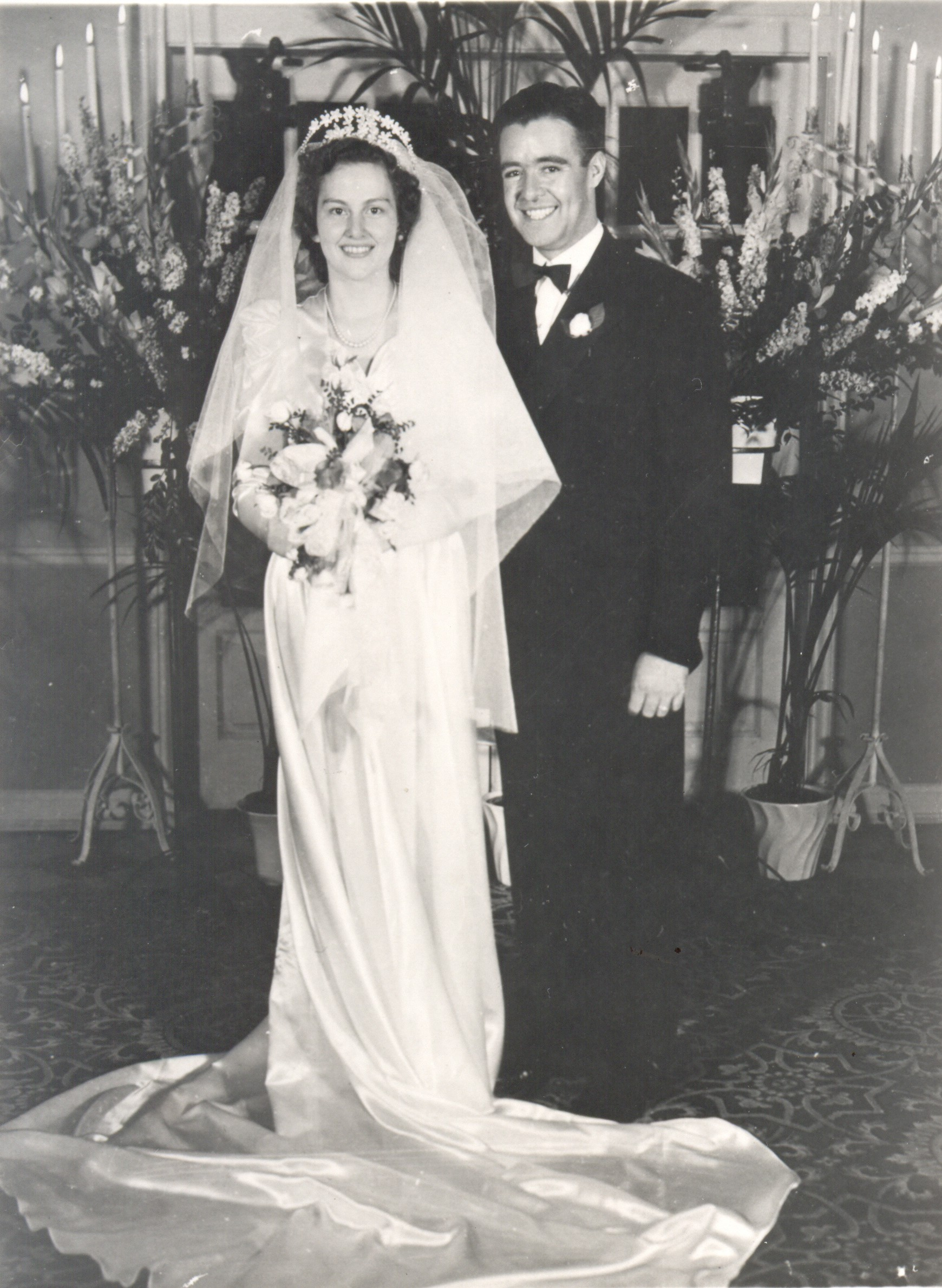 The Wedding of Evelyn Monson Lee & Charles Shirley Lee