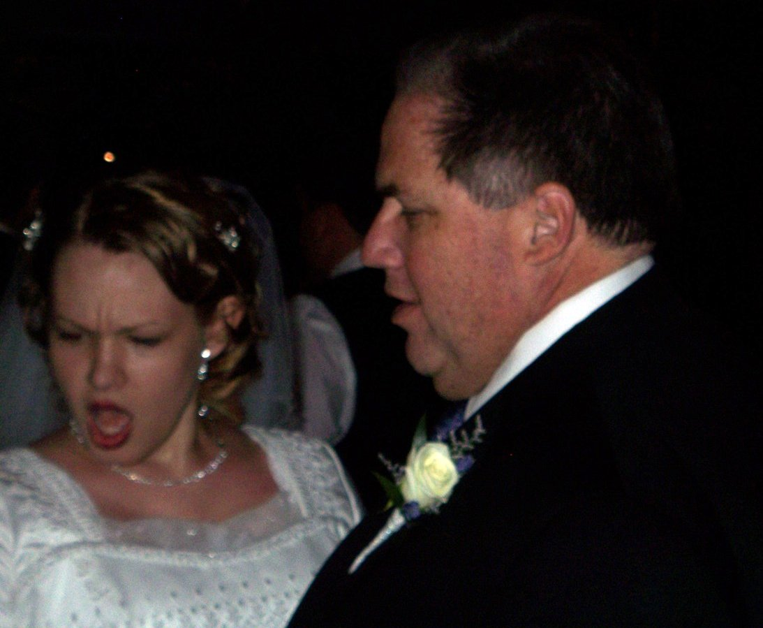 The Bride dances with her Father-in-Law.